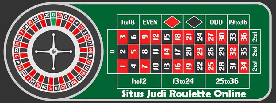 Situs Judi Game Roulette Online Uang Asli Terpercaya